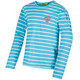 Regatta Carella Shirt Kids Horizon/White Stripe